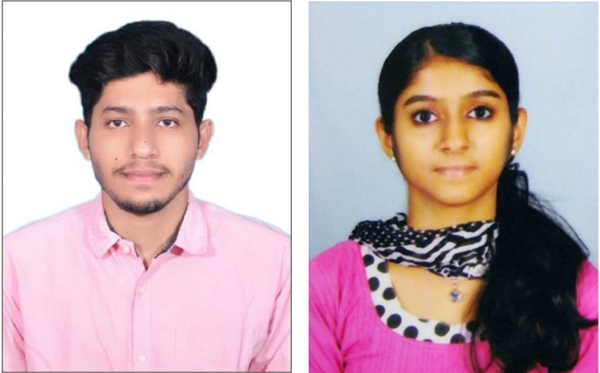 Maneesh M. and Gayathri Placed in CTS
