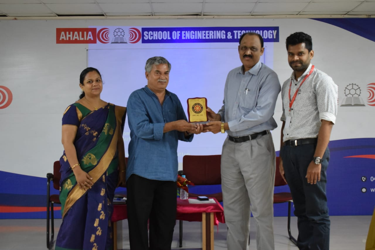 Inauguration Of NSS Golden Jubilee Celebration By Mr. Vijayakumar Maruthur