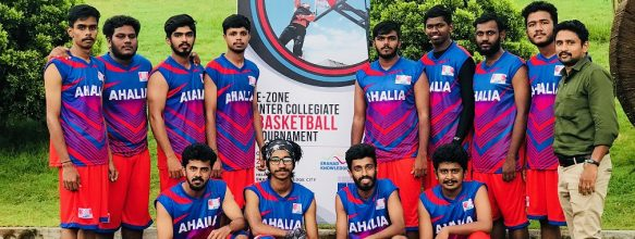 ASET Basketball Team at E-Zone Tournament