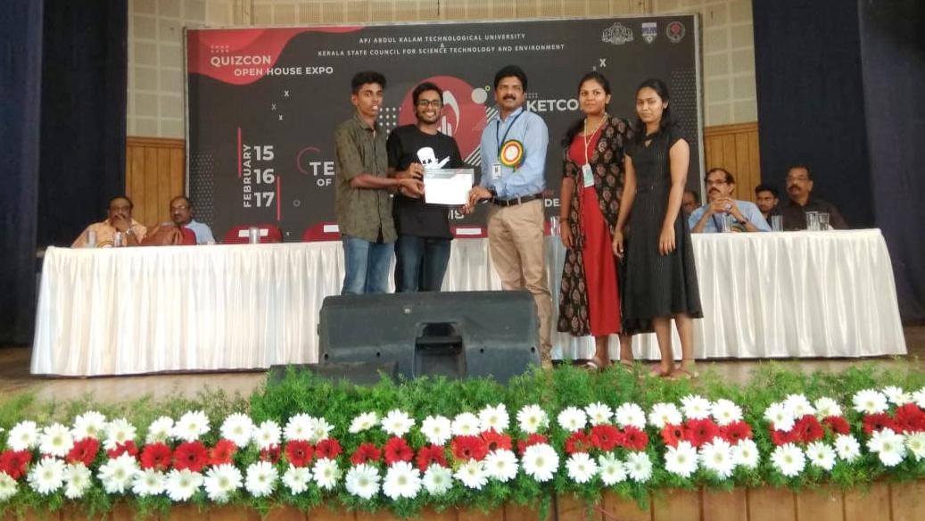 Civil Engineering students at TEKON 2019