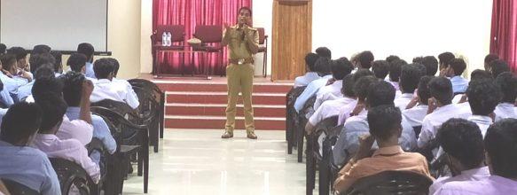 Anti-Drug Awareness Class By Mr. Sathish P. K.