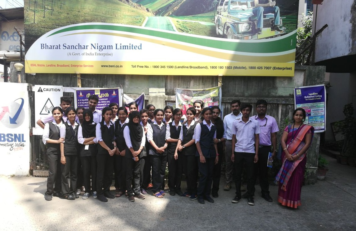 Industrial Visit To Bharat Sanchar Nigam Limited (BSNL), Palakkad