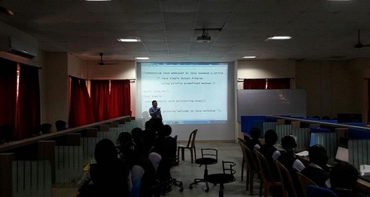 Coders Club Workshop on JAVA