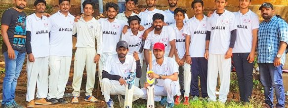 ASET Cricket Team At E-Zone Tournament