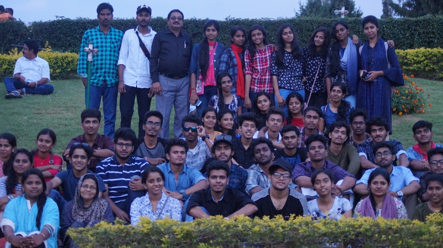 Excursion Of S5 CSE Students To Bangalore And Mysore