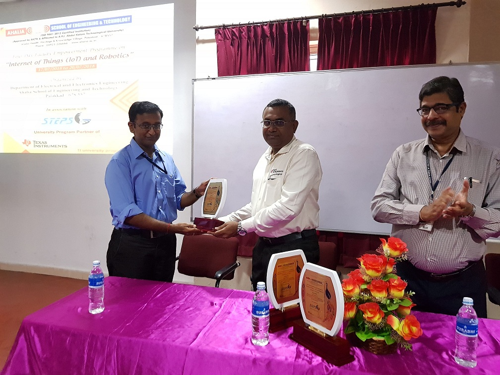 "Faculty Empowerment Programme On ""Internet Of Things (IoT) And Robotics"""
