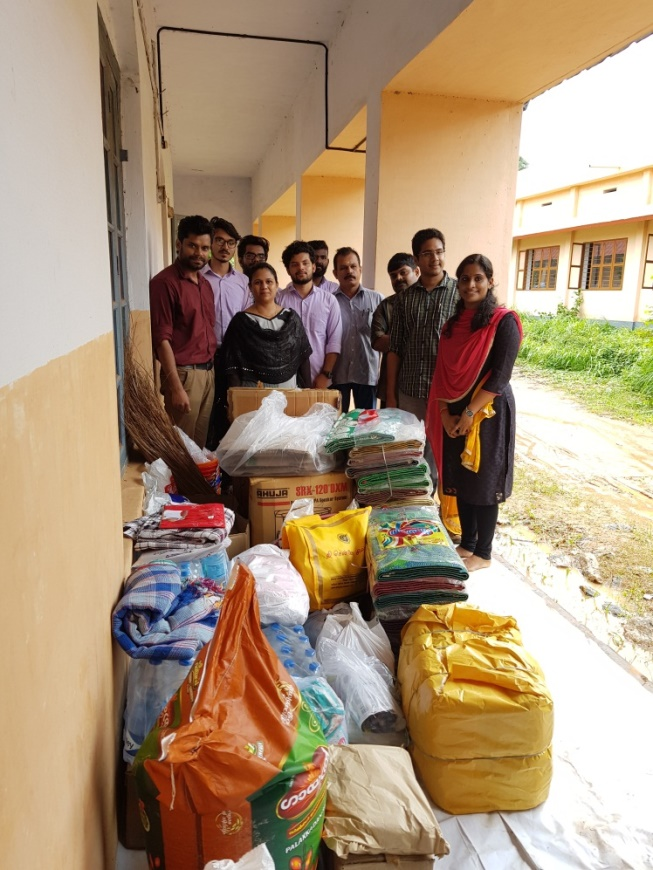Flood Relief Activity at ASET