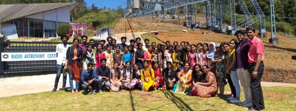 Industrial Visit To Radio Astronomy Centre (RAC), Ooty