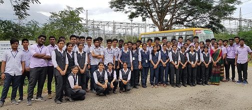 Industrial Visit To 220 KV KSEB Sub Station