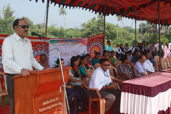 Inauguration 5th Athletic Meet (Sports Day)