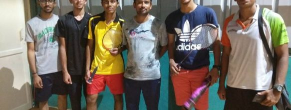 ASET Wins KTU EZONE Mens Badminton 2017