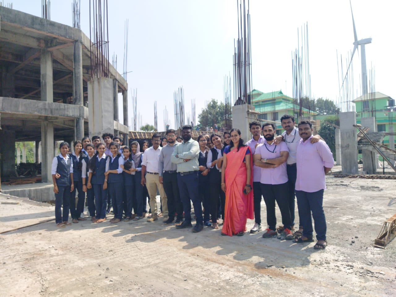 Site Visit for 3rd Year Civil Students
