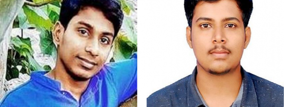 Arthadh B. and Harikrishnan M. Placed in TCS
