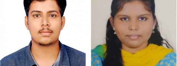 Harikrishnan M. and Rajeshwari P. Placed in TCS