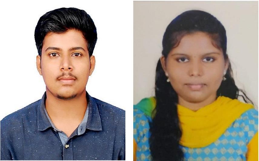 Harikrishnan M. and Rajeshwari P. Placed in TCS