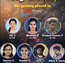 Seven Students Placed in UST Global