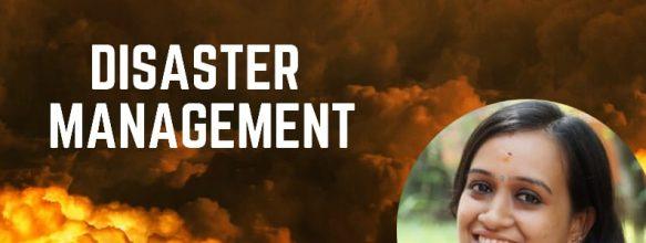 Webinar on 'Disaster Management'