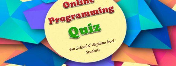 Online Programming Quiz