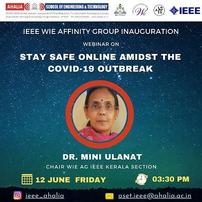 IEEE Women In Engineering SB AG Inauguration