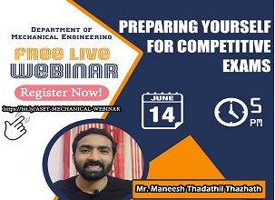 Webinar on Preparing Yourself For Competitive Exams