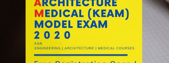 Ahalia KEAM Model Exam 2020