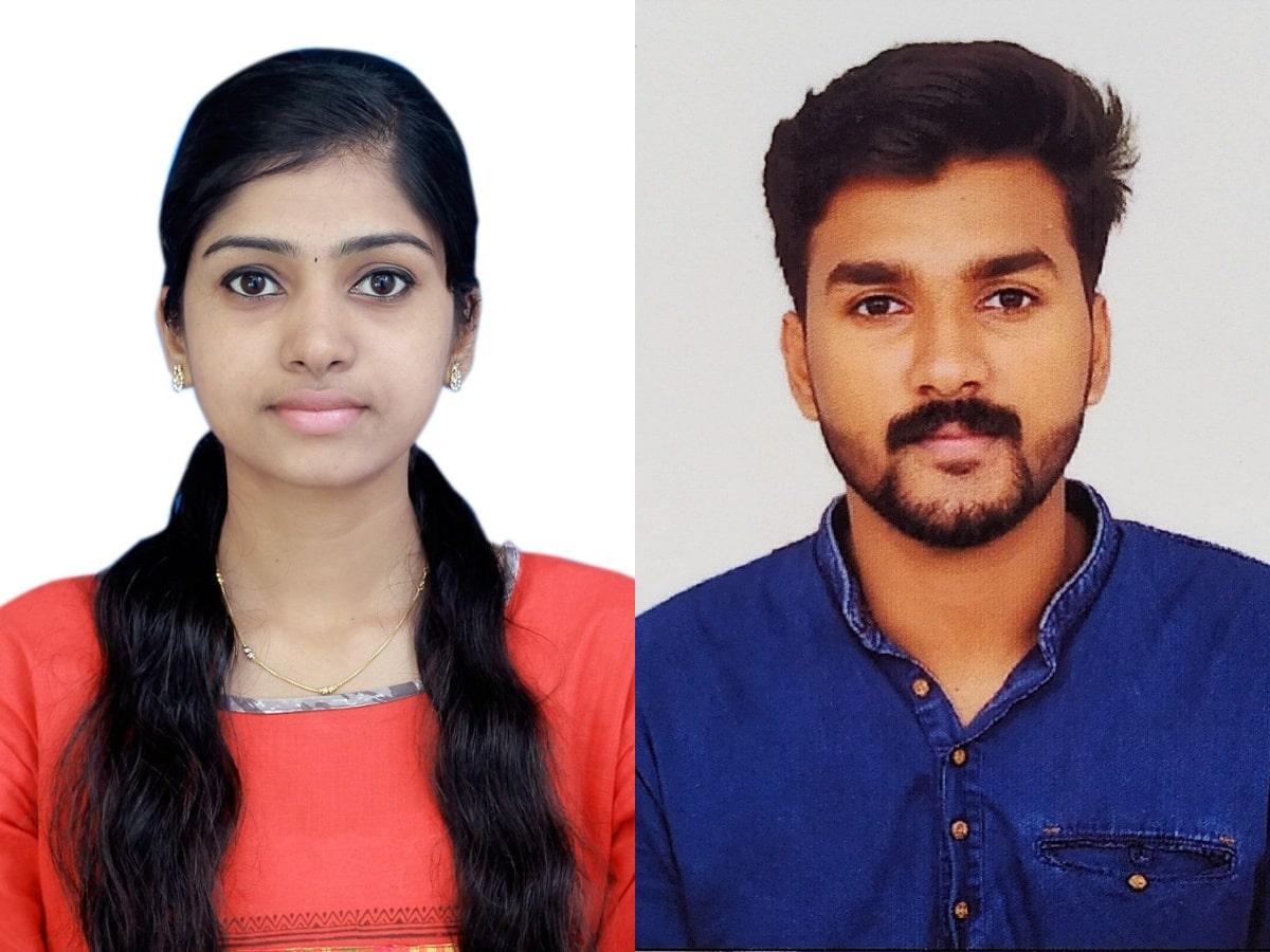 M. U. Pranav and Anugraha U. Join Ahalia Group