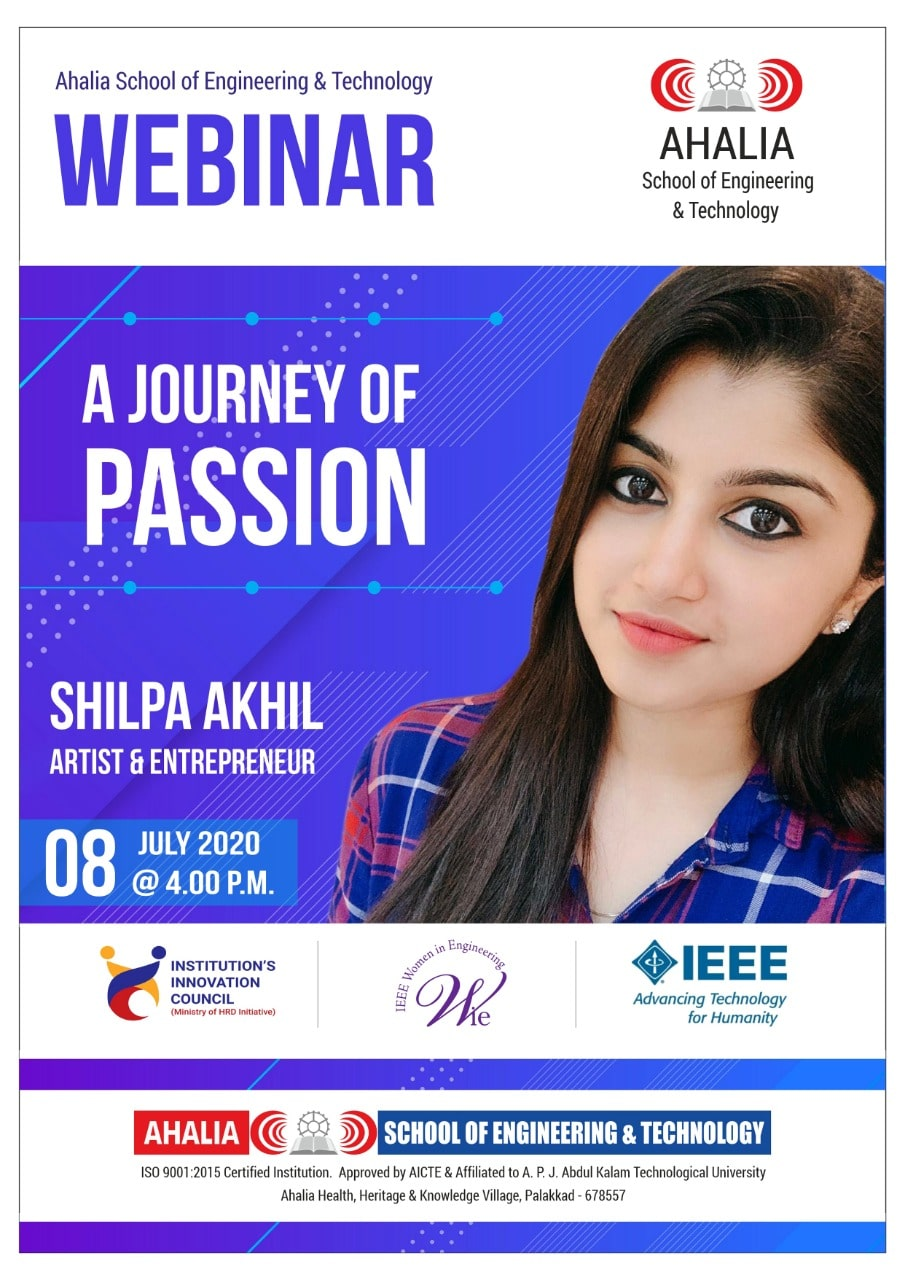 Webinar on A Journey of Passion