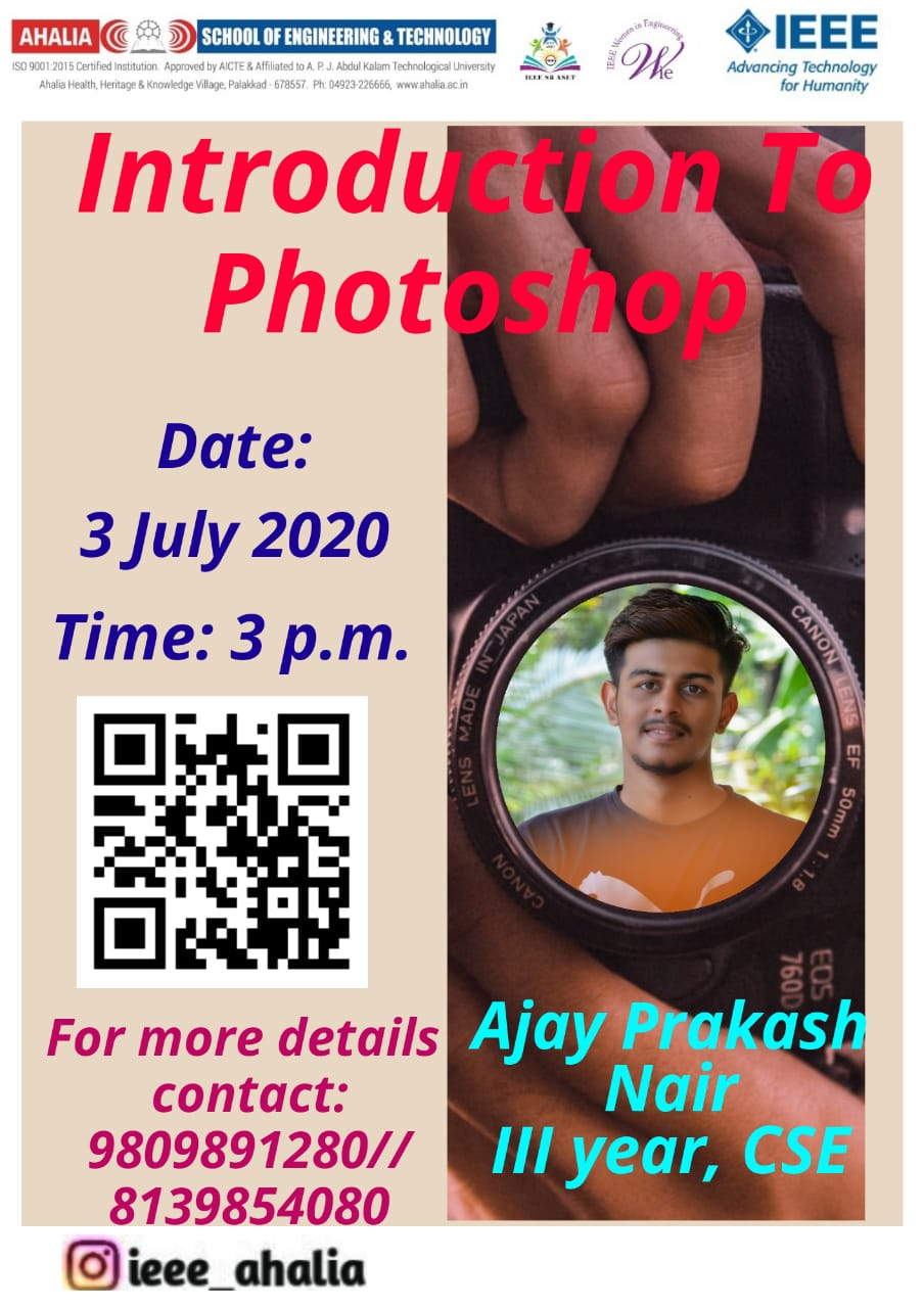 Webinar on Introduction to Photoshop