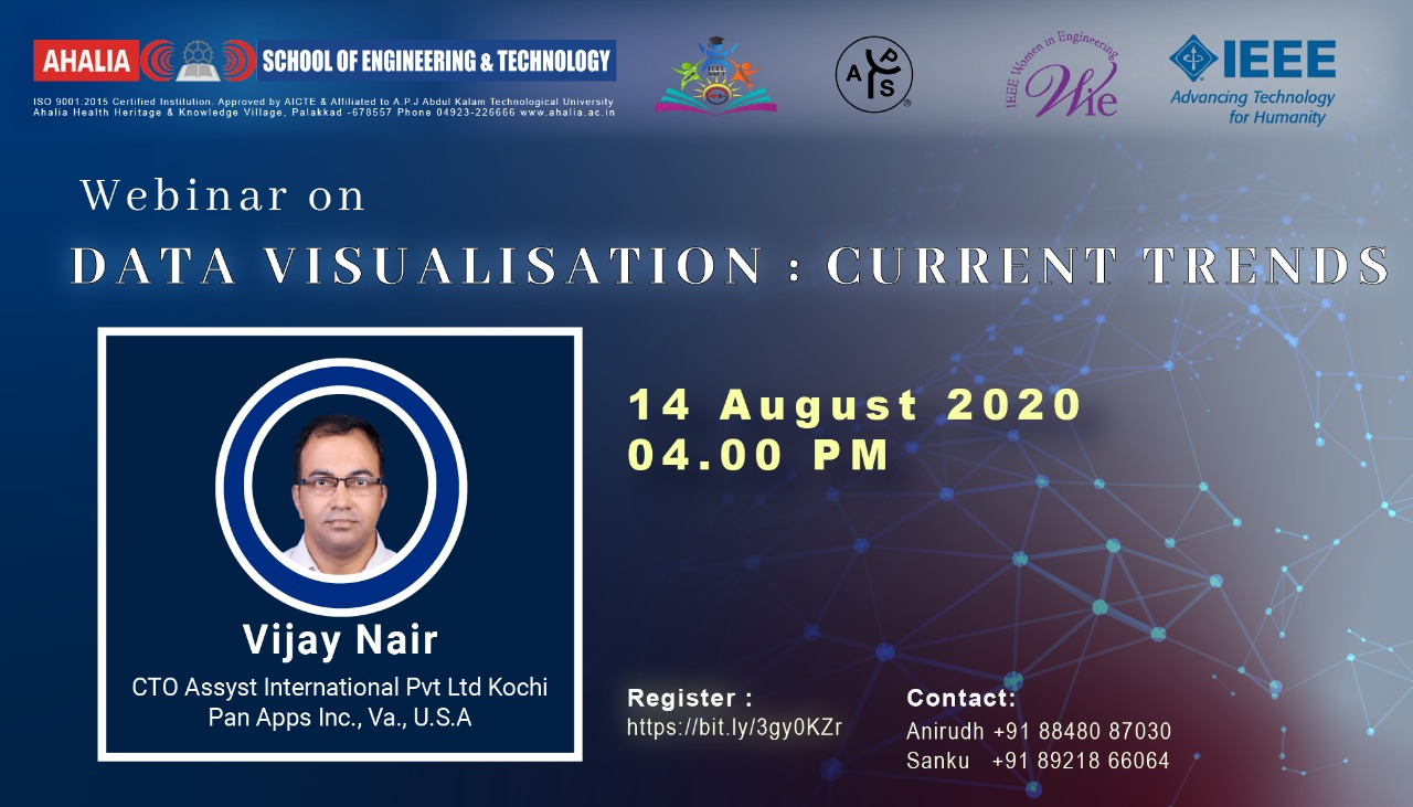 Webinar on 'Data Visualization: Current Trends'
