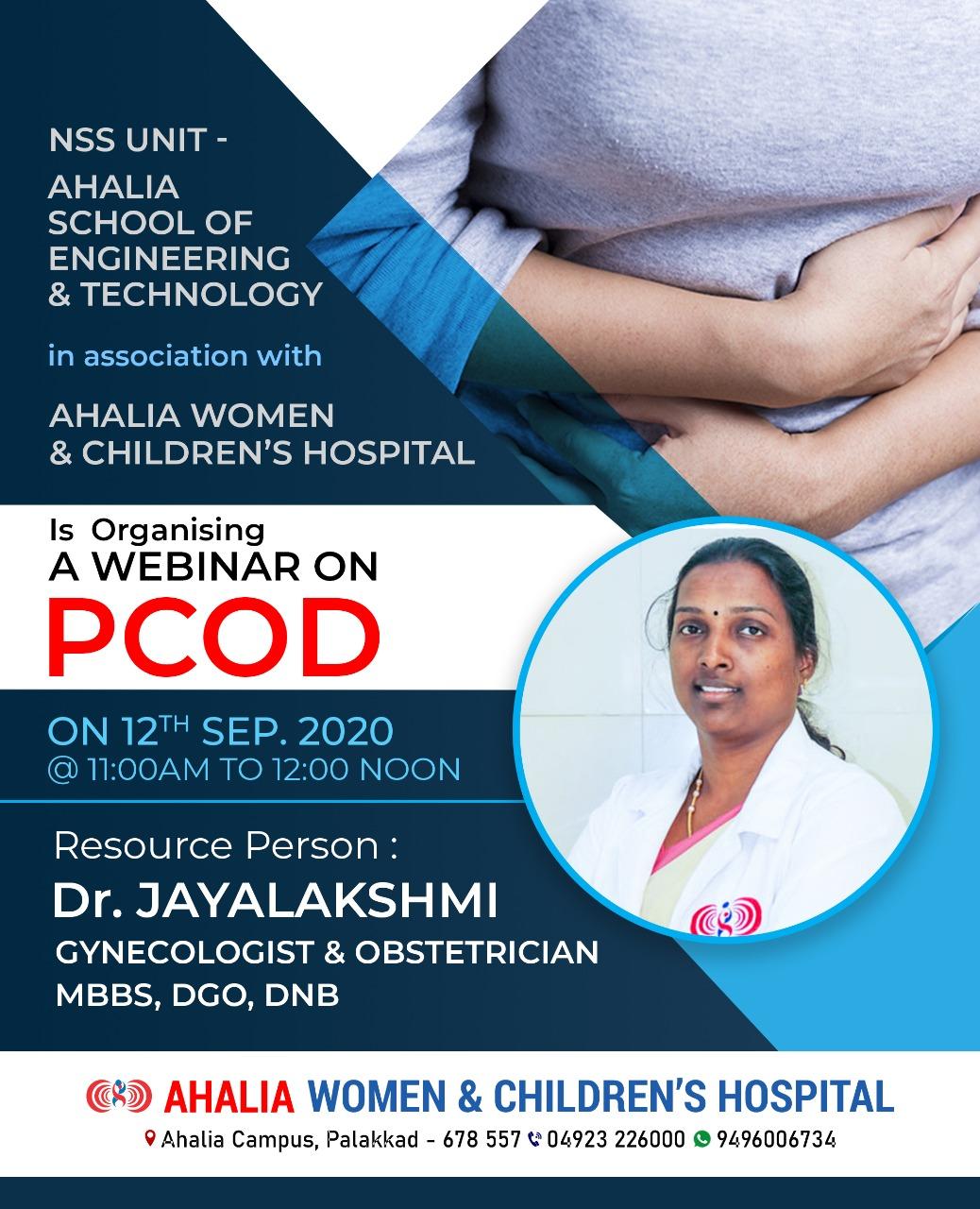 Webinar on PCOD