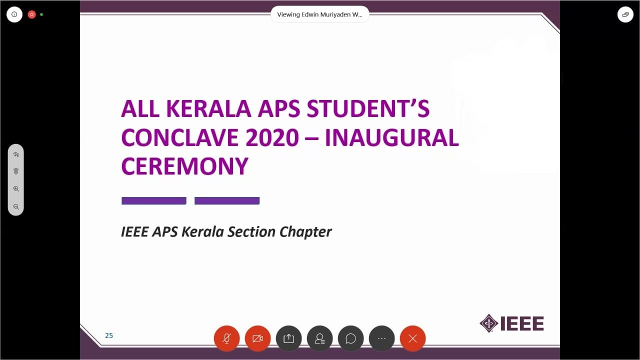 All Kerala Antennas and Propagation Society Students Conclave