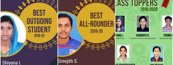 Best Outgoing, Best All-Rounder and Class Toppers – 2020
