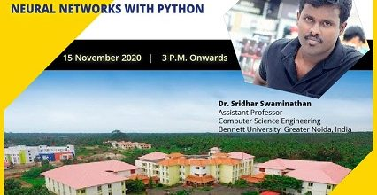 Hands-on Training on 'Neural Networks With Python'