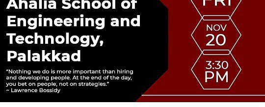 Webinar on 'Career Opportunities in Advanced Technologies'