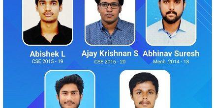 Five Students Join Ahalia Group