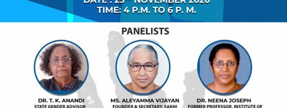 Panel Discussion to 'Celebrate International Day for The Elimination of Violence Against Women'