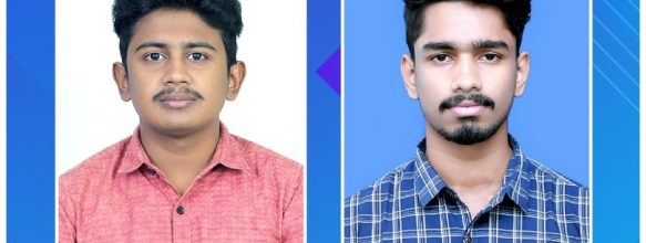 Sarath M., Arun S. Placed in Ahalia FinForex