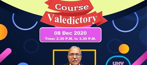 Valedictory Function – Universal Human Values Program 2020