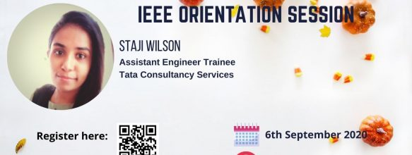 IEEE Orientation Session