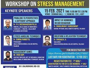 Workshop on 'Stress Management'
