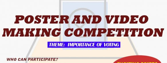 Competition on 'Importance of Voting'