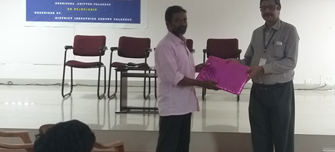 Awareness Session on 'Entrepreneurship for First year Students'