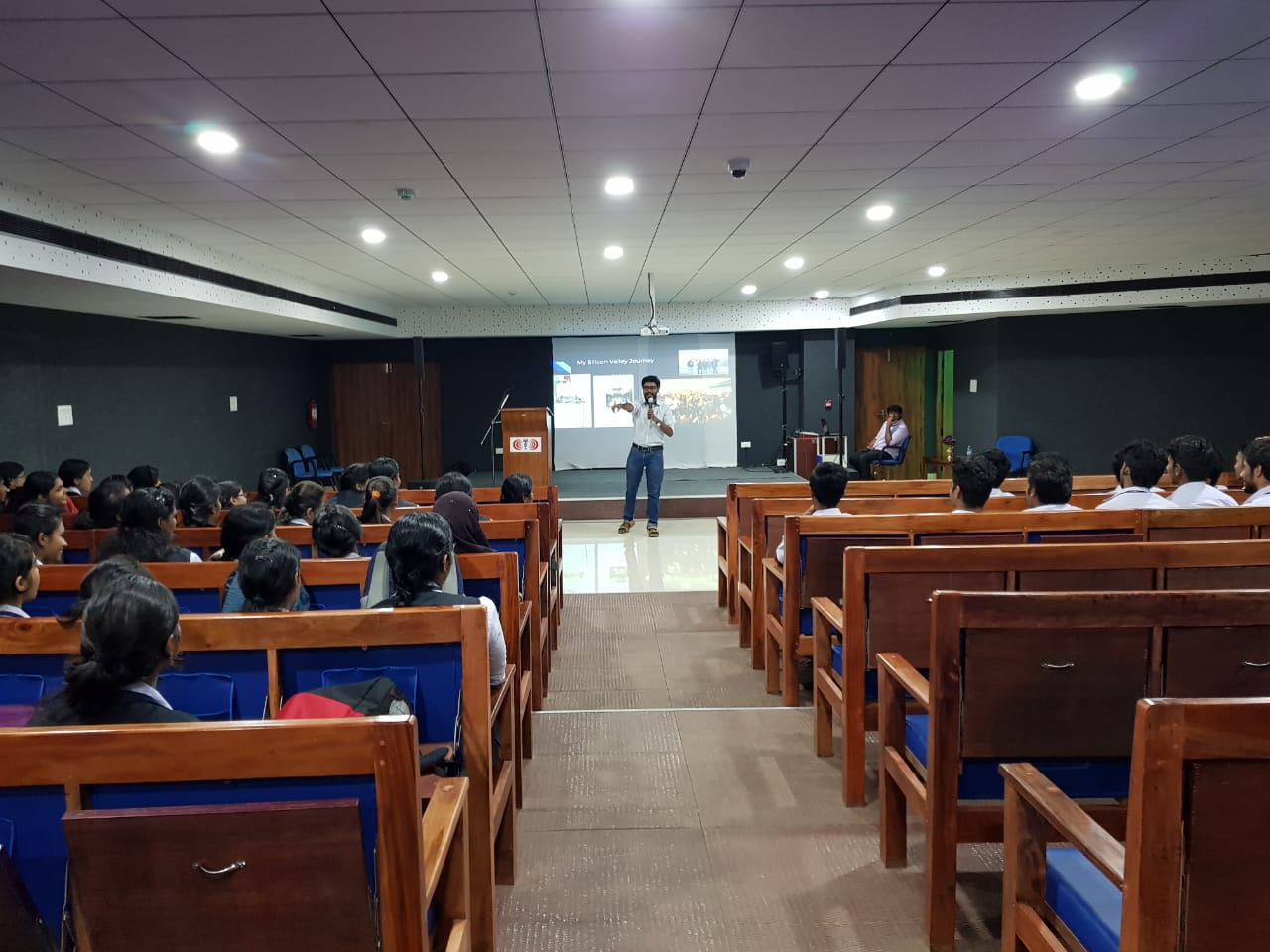 A session on 'Grooming Young Entrepreneurs'