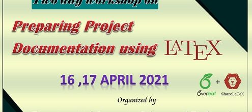 Two Day Workshop on Preparing Project Documentation using LaTeX