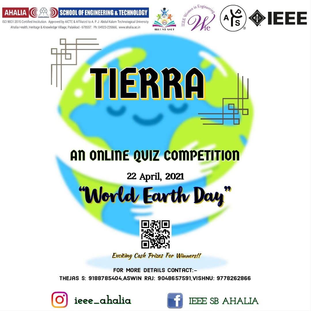 'Tierra' – Online Quiz Competition
