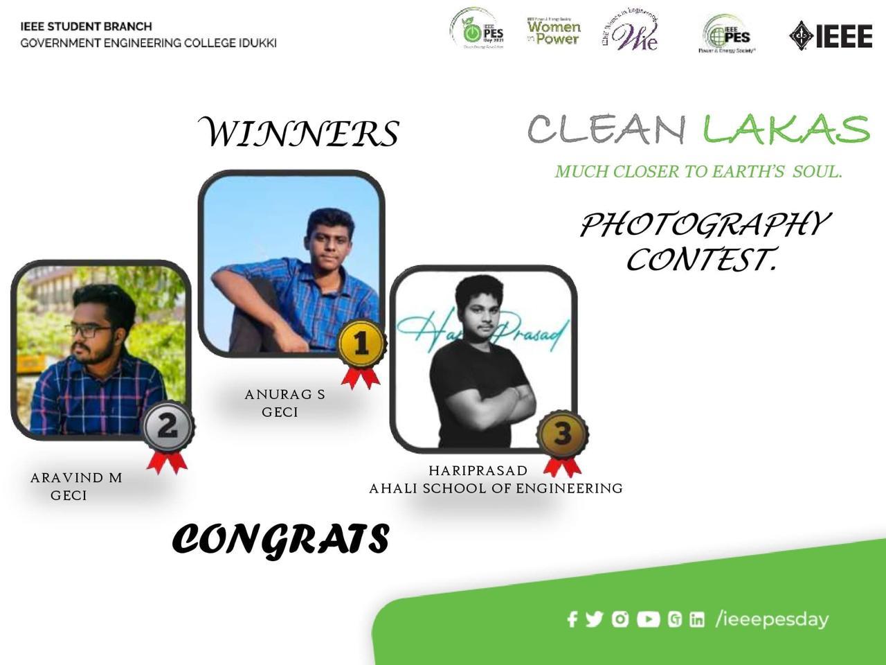 Hariprasad wins Photography Contest