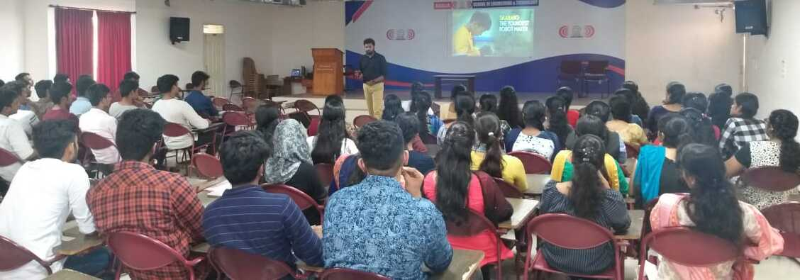 Awareness Session on Entrepreneurship for First Year Students
