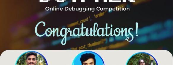 Sanjay Wins Debugging Competition