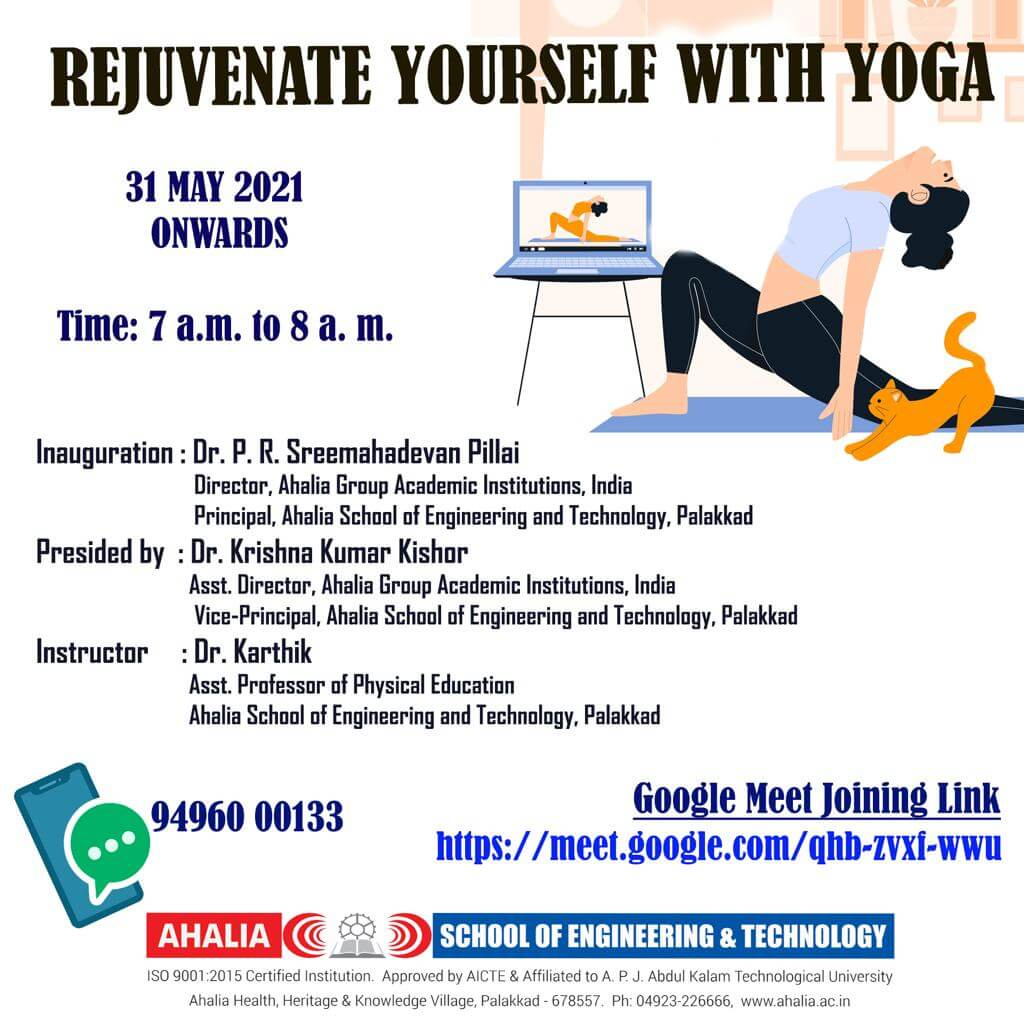 Rejuvenate Yourself with Yoga