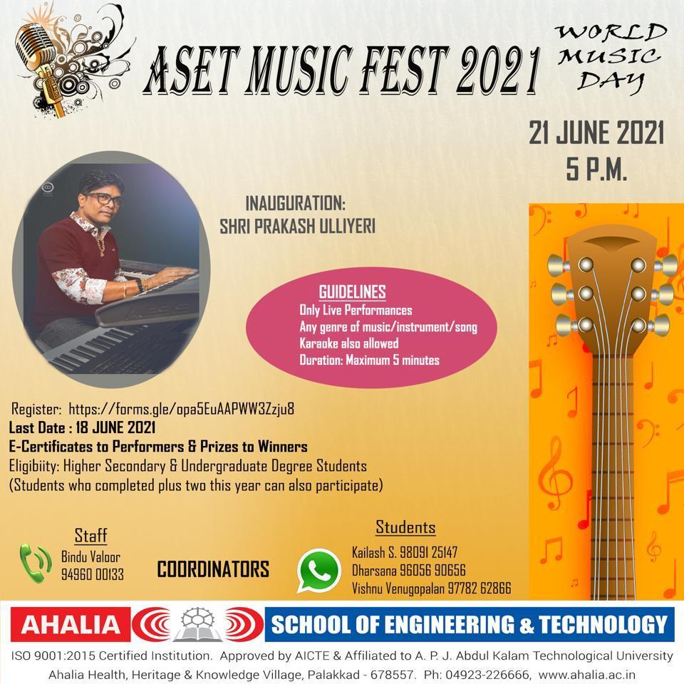ASET Music Fest 2021
